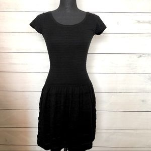 Bar III Fit and Flare Little Black Dress